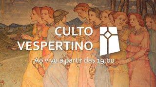 Culto Vespertino - Mateus 25.1-13 (08/11/2020)