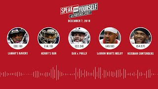 SPEAK FOR YOURSELF Audio Podcast (12.7.18)with Marcellus Wiley, Jason Whitlock | SPEAK FOR YOURSELF