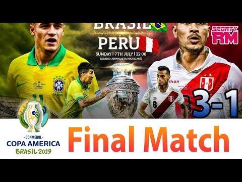 Brazil Vs Peru - Copa America 2019 - Full Match - 1st Half