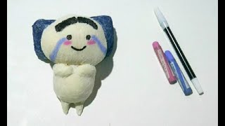 DIY Squishy Emoji Pentol | DIY Fidget Toys Ideas | Viral Tik Tok Fidget Toys Video