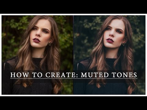 [Photoshop CS5] How To Create Muted Tones