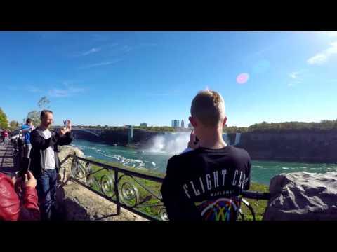 Gopro Travel, New York, Niagra Falls and more, LVOL