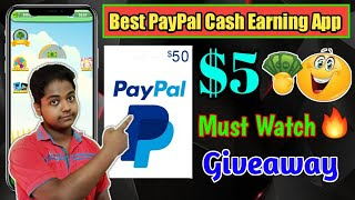 Tree for money App| PayPal Cash Earning App 2020 | 5$ Free PayPal Cash | Earn PayPal Cash | Giveaway