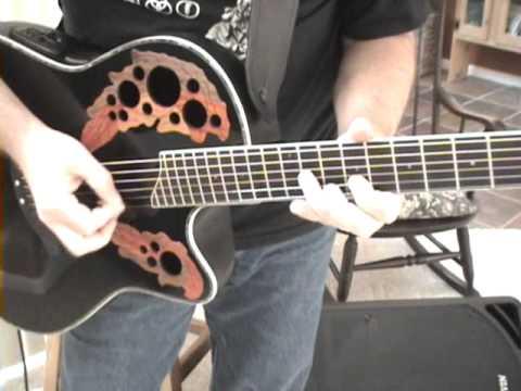 Acoustic Guitar Lesson | Scott Grove Ovation Winner - YouTube