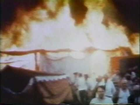 1944 Hartford Circus Fire the big top collapse
