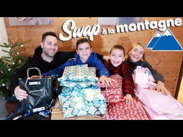SWAP EN FAMILLE À LA MONTAGNE 🗻