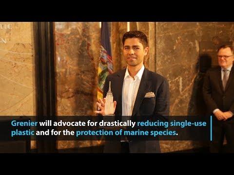 Adrian Grenier designated as UN Environment Programme Goodwill Ambassador