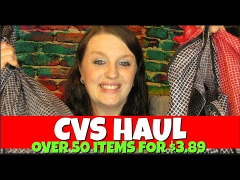 CVS Haul Over 50 Items for $3.89 April 29th-May 5th 2018