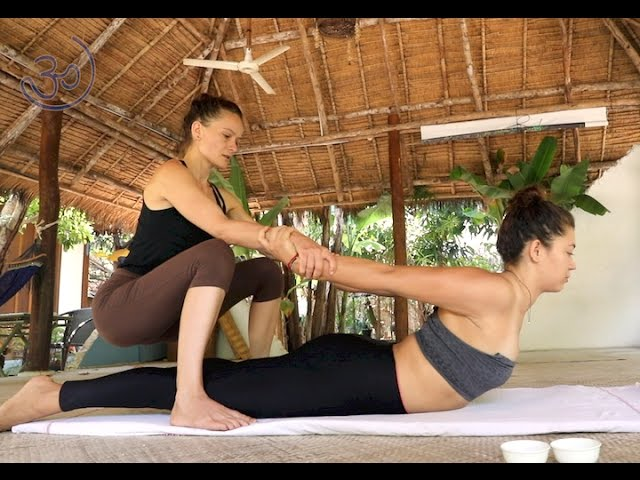 Kat - Ayurvedic yoga massage at Blue Indigo