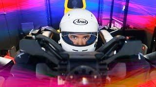 MANEJANDO UN FÓRMULA 1 (*Simulador oficial de RB Racing*) | JUCA