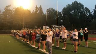 IHS Band Camp 2018: Fight Song