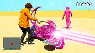 STEALING SQUID GAMES Bikes in GTA 5! (GTA 5 MODS)