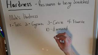 Hardness and the Moh's Hardness Scale