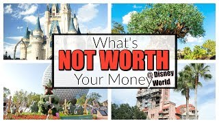 5 THINGS NOT WORTH YOUR MONEY AT DISNEY WORLD | DON'T WASTE YOUR MONEY ON THIS AT DISNEY!