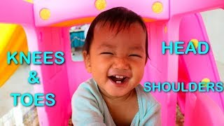 Head, Shoulders, Knees and Toes Song Exercise For Kids and Children