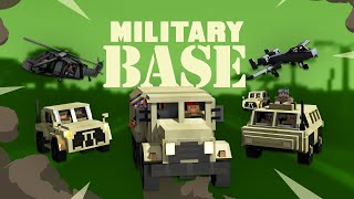 Military Base - Minecraft Marketplace Trailer