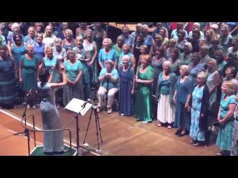 Last Night I Had The Strangest Dream, Gordano Gorgeous Chorus, Colston Hall, 4th July 2015