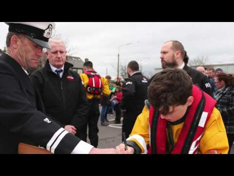 Youghal pays tribute to Irish Coast Guard Crew