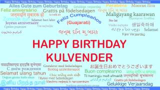Kulvender   Languages Idiomas - Happy Birthday