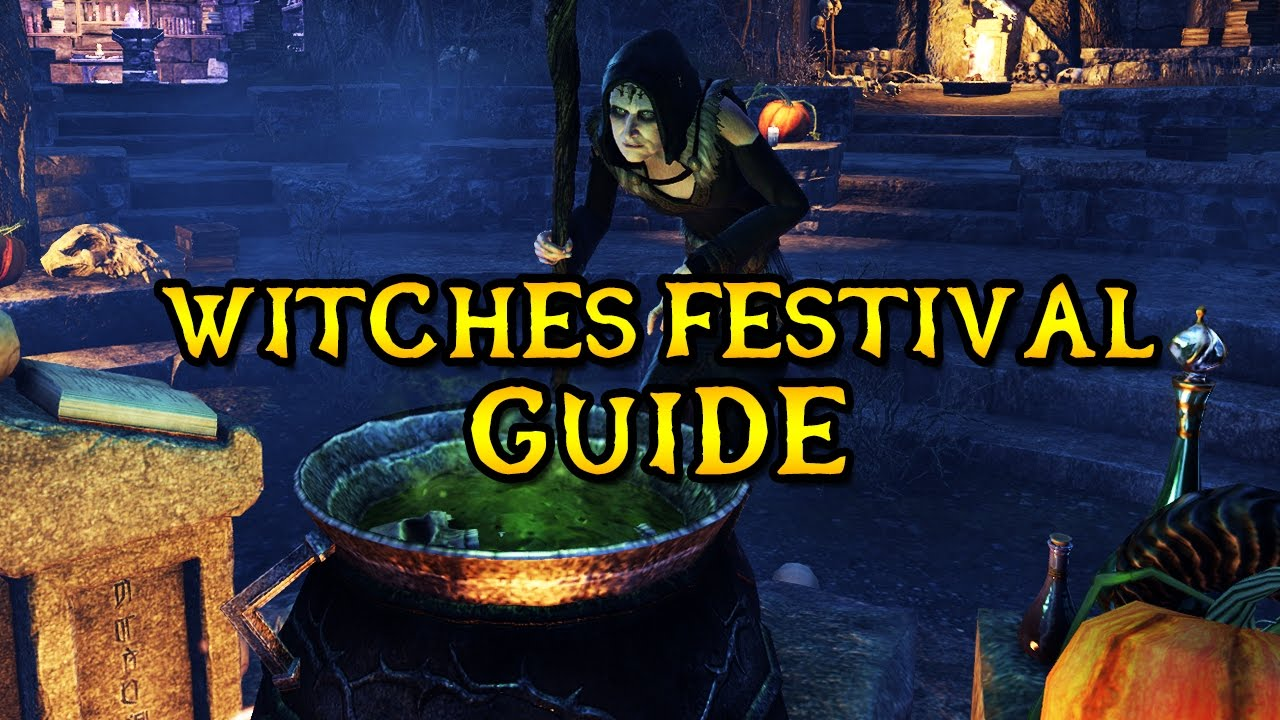 ESO Witches Festival Guide (2x XP EVENT)