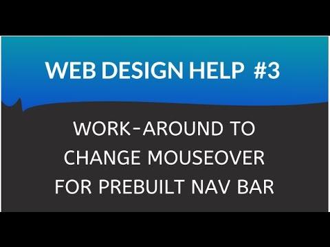 how to build a nav bar