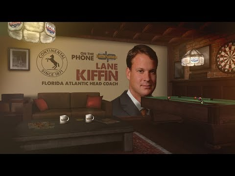 Continental Tires Coaches Corner Lane Kiffin on The Dan Patrick Show   Full Interview  11/29/17