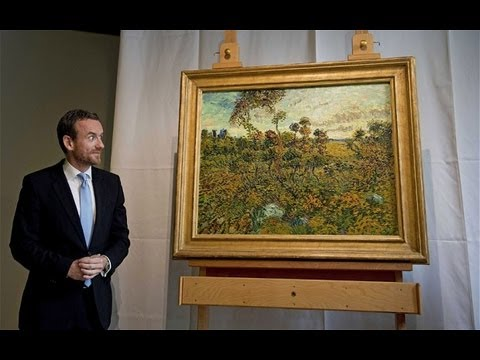 Vincent van Gogh's newly discovered work unveiled in Amsterdam