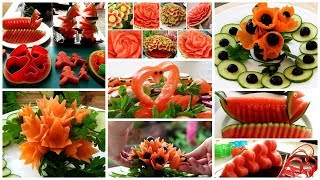 25 BEAUTIFUL FOOD CARVING - 25 WAYS TO PEEL AND CUT FRUITS LIKE A PRO