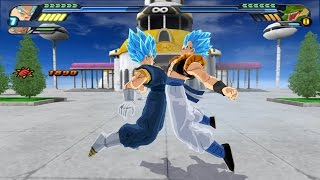 gogetto ssjgssj fusion potaras vs shenron z warrior dragon ball z budokai tenkaichi 3 mod