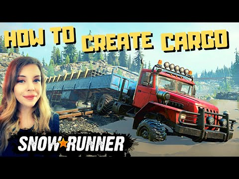 HOW TO Build Rail Sections, Metal Beams, and Wooden Planks – CARGO CREATION – SNOWRUNNER Season 3