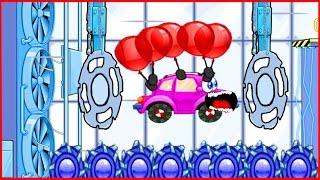 Wheely Вилли  Мультик  игра для детей про красную машинку