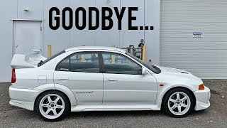 Evo 5 Goes to it's New Home...