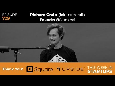 E729: Founder Richard Craib shares A.I. hedge fund Numerai, blockchain & mission to manage world's $