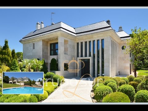 90001 House of Spain. Exclusive luxury villa in La Moraleja, Madrid, Spain