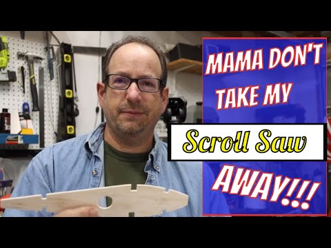 EP9: The Scroll Saw Is King, Scratch Building A Giant Scale RC Aircraft