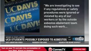 UC Davis Asbestos exposure