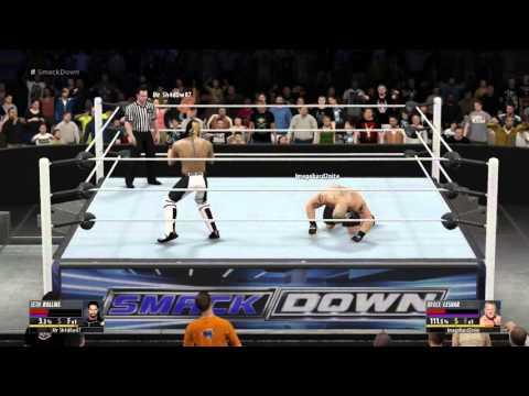 Seth Rollins vs. Brock Lesnar