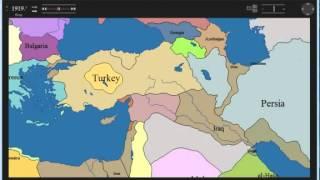 1914 1925 Türkiye İran Rusya Sınır Değişimleri   YouTube