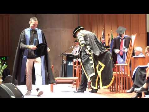 The Australian National University Graduation  Ceremony, July 2011.