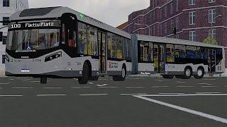 Proton Bus Simulator - Caio Millennium BRT I/II MB O500UDA BlueTec 5 | padrão SP