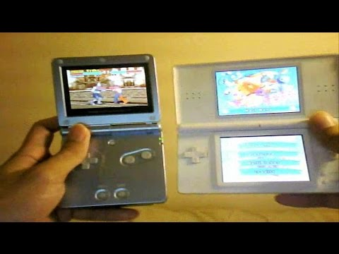 nintendo ds lite vs game boy advance sp comparison and review youtube. Black Bedroom Furniture Sets. Home Design Ideas