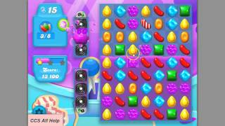 Candy Crush SODA SAGA level 208 No Boosters