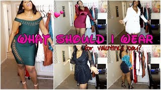 GROWN AND SEXY VALENTINE'S DAY TRY-ON HAUL ft. FASHION NOVA CURVE