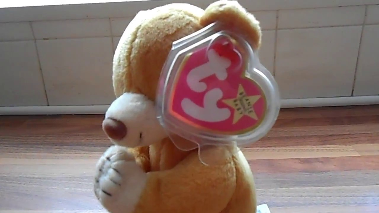 TY BEANIE BABY HOPE THE PRAYING BEAR 1999 RETIRED CUDDLY PLUSH SOFT ... bbdbd7977ed