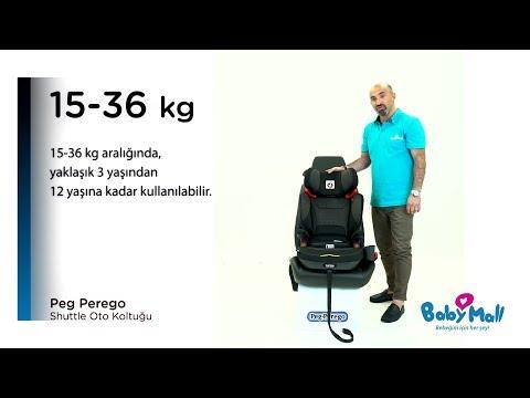 Peg Perego Viaggio 2-3 Shuttle Oto Koltuğu Ürün Tanıtımı I Babymall
