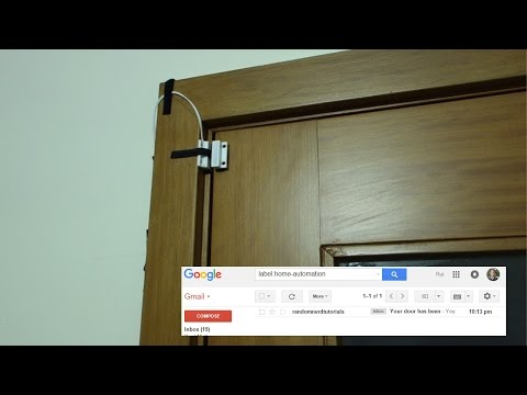 Door Status Monitor using ESP8266 - Demonstration