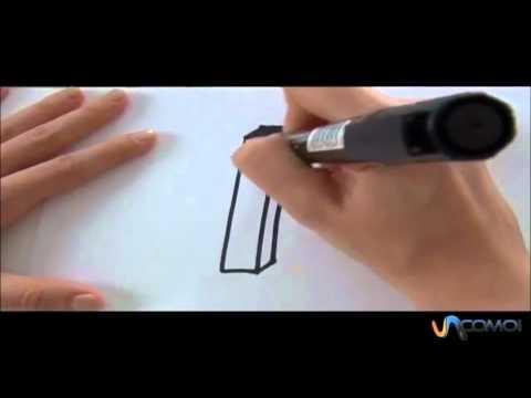 Come disegnare la lettera I in 3D