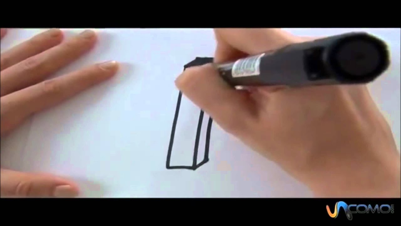 Come disegnare la lettera i in 3d youtube for Disegnare online 3d