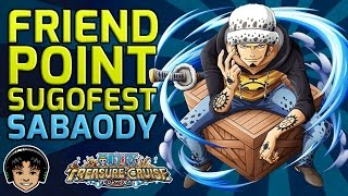 Friend Point Sugofest Japan - Story Mode to Sabaody! [One Piece Treasure Cruise]
