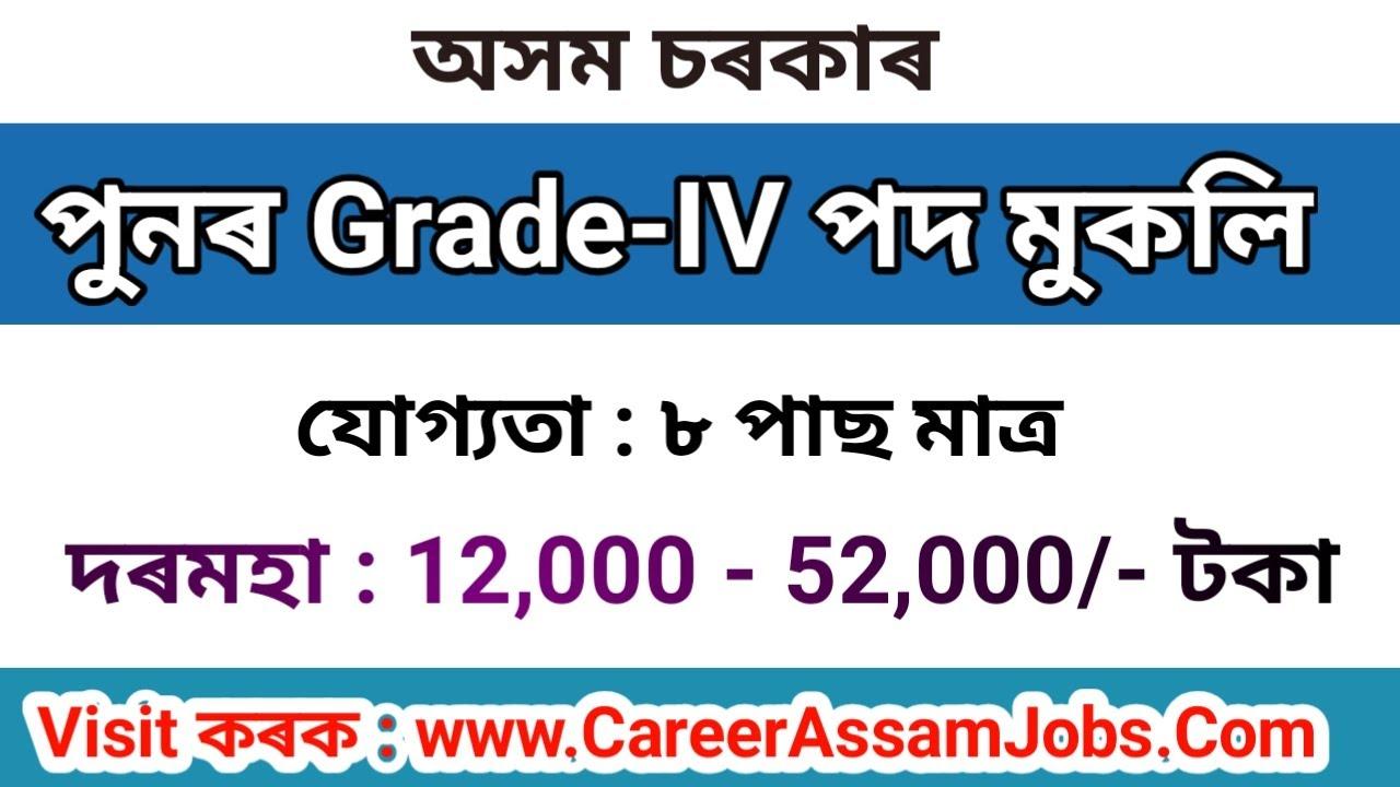 Assam Government Job 2020 // Peon and Chowkidar Post for VIII Pass Candidates // Career Assam